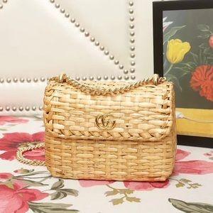 Gucci Wicker Bag $ 3 0 0